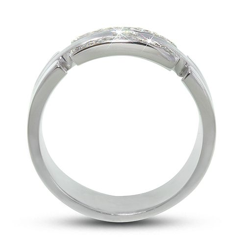 Men's Diamond Wedding Ring - Rounds - Channel -  .30ct.