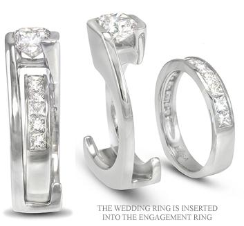 Custom Diamond Rings Custom Diamond Wedding Ring Sets Custom