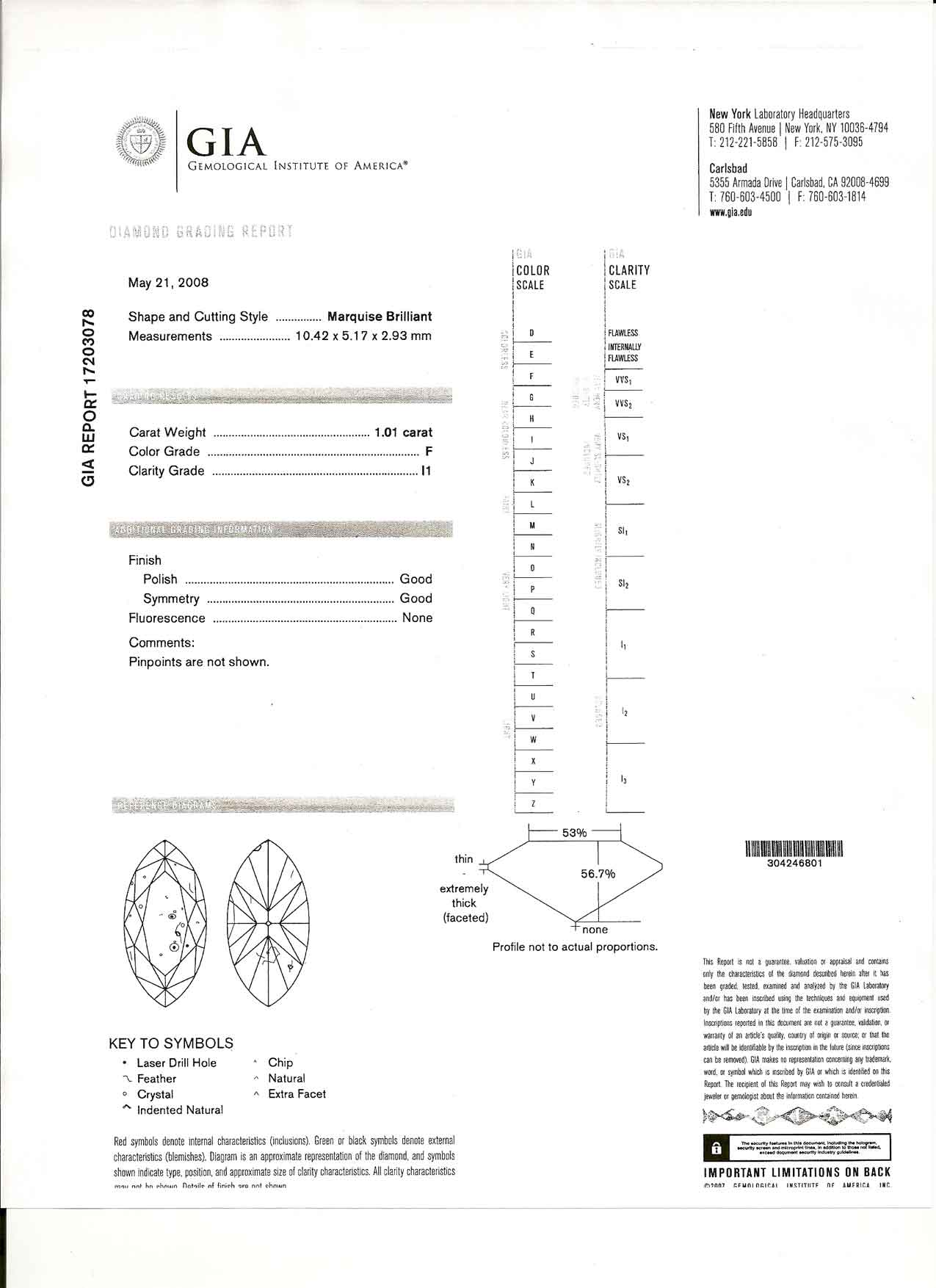 Diamond engagement rings wedding rings gia certified diamonds click here to see this diamonds gia certificate on screen xflitez Image collections