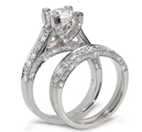 Wedding Bridal Sets and Diamond Engagement Rings at Elsa Rings New York